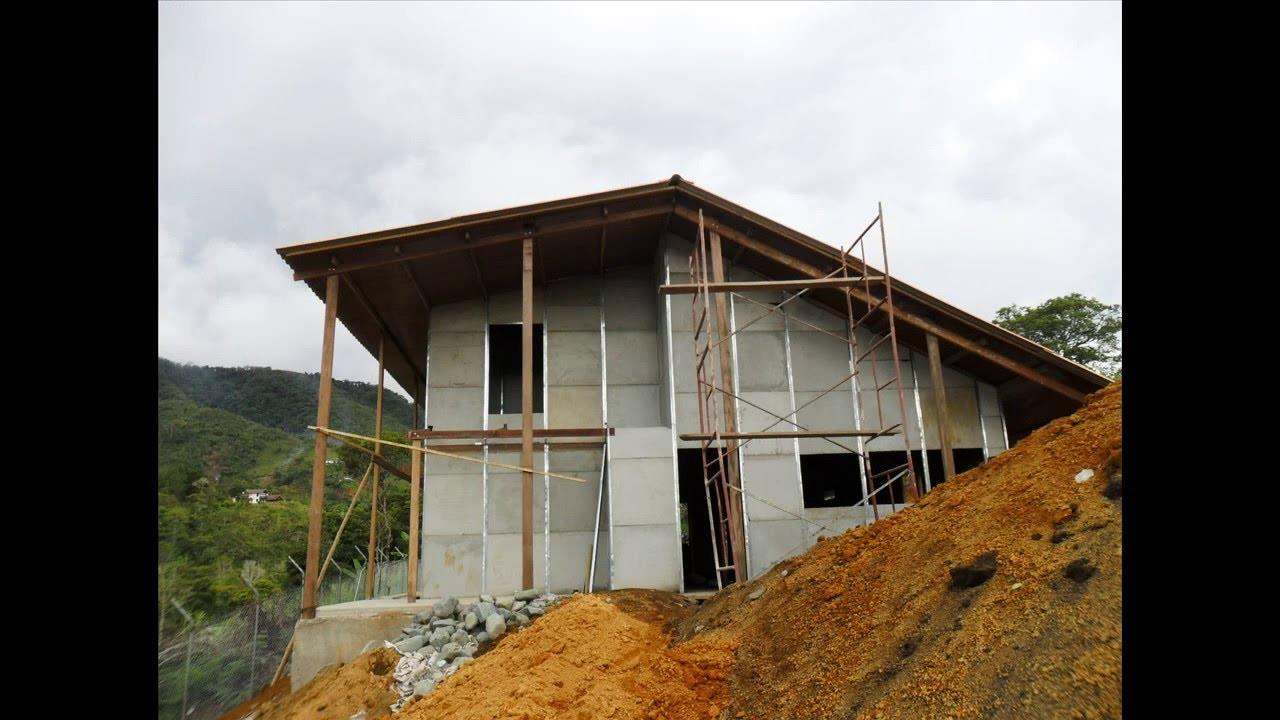 Casas prefabricadas construexpress youtube for Casas prefabricadas economicas
