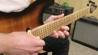 38 seconds of 80's style guitar shredding