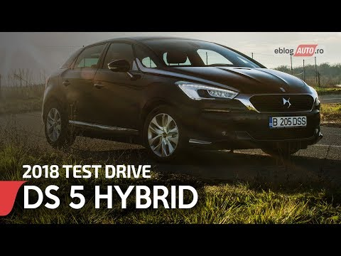 2018 DS 5 HYBRID 180 CP AT 6 SO CHIC  | TEST DRIVE eblogAUTO