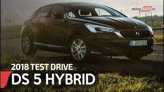 2018 DS 5 HYBRID 180 CP AT 6 SO CHIC  | TEST DRIVE eblogAUTO