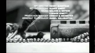 Titulos de crédito de Matar un Ruiseñor / To Kill a Mockingbird Opening Credits