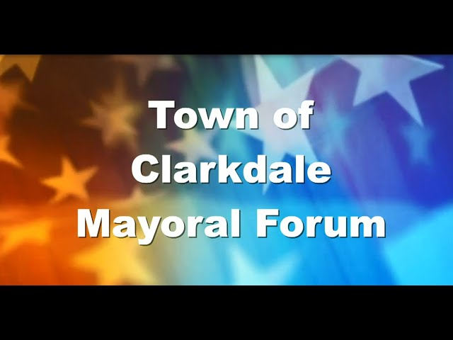 Clarkdale Mayoral Candidate Forum - June 2020
