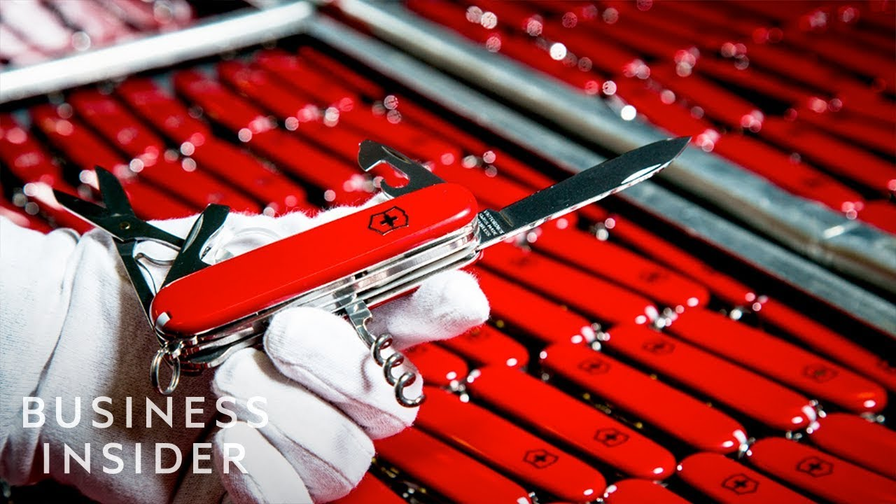 How Swiss Army Knives Are Made | The Making Of
