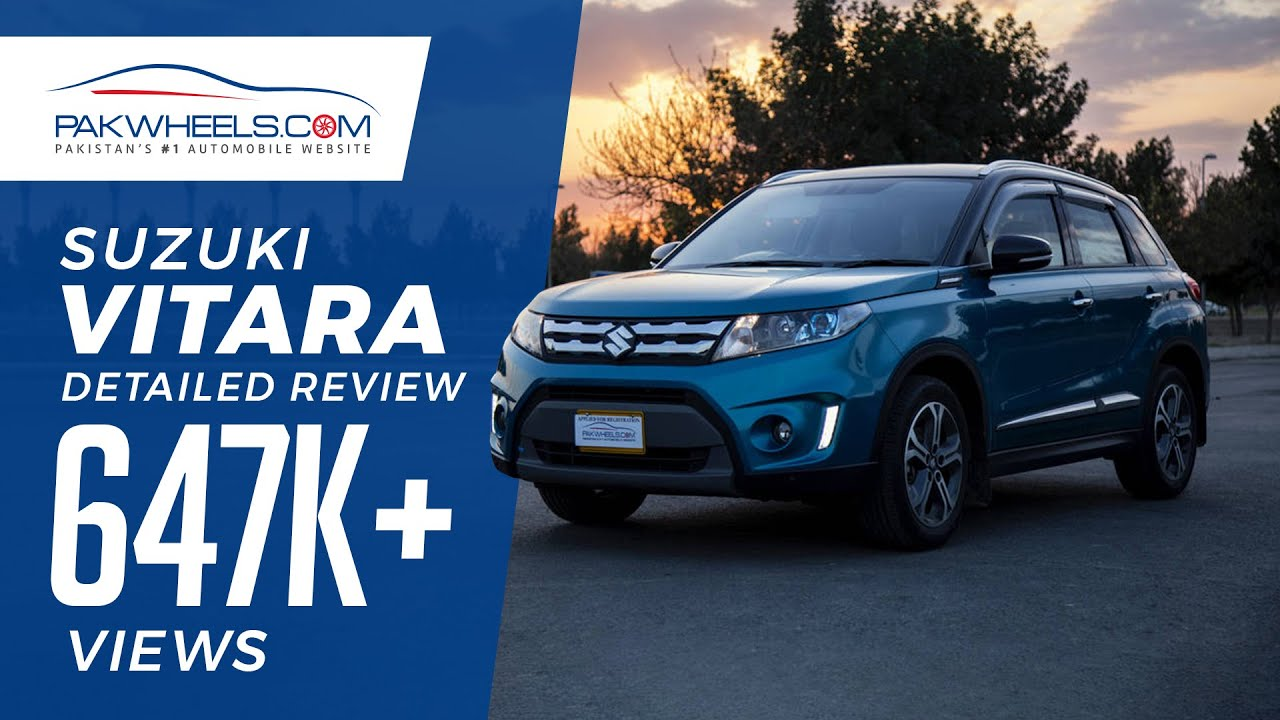 video Suzuki Vitara GLX 1.6 Price, Specifications & Features in Pakistan