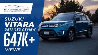 Suzuki Vitara Detailed Review: Price, Specs & Features | PakWheels