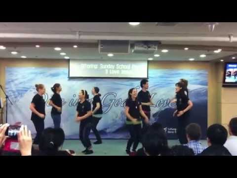 I Love Jesus Worship Dance Travel Video