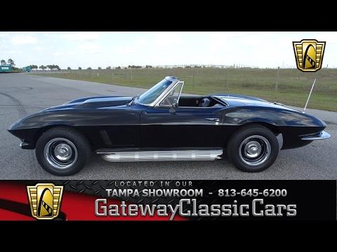 825   TPA 1963 Chevrolet Corvette 350 CID V8 3 Speed Manual