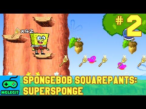 SpongeBob SquarePants SuperSponge Walkthrough Part 2 - Sandy's Tree Dome (PS1) (No Commentary)