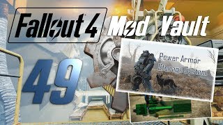 FALLOUT 4 Mod Vault #49 : Power Armor Storage & Big Revolvers