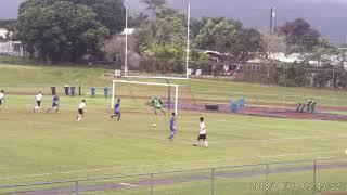 Kahuku JV Soccer 2019 vs Kailua