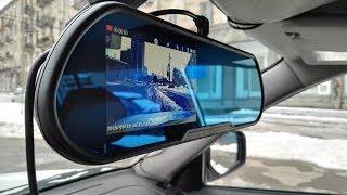 Зеркало-видеорегистратор Vehicle Blackbox DVR с камерой заднего вида.