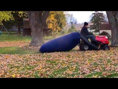 Lawn Mower Leaf Bag Review