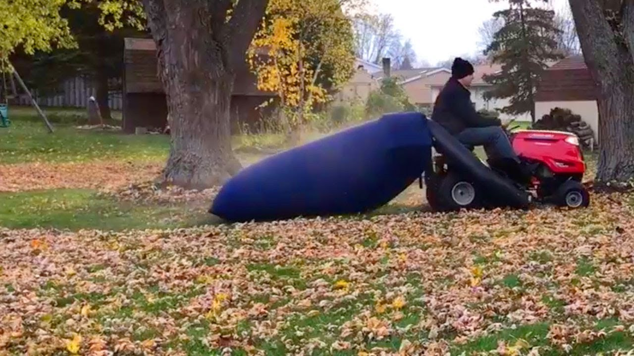 Lawn Mower Leaf Bag Review