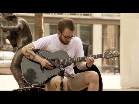 Ryan Windham from Wichita Sessions filmed in Downtown Wichita