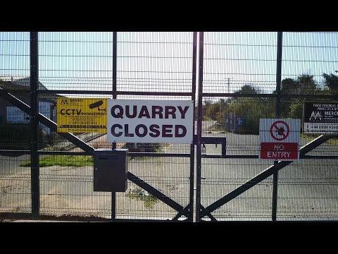 DJI Drone Abandoned Quarry Carrowdore N.Ireland Mavic Pro