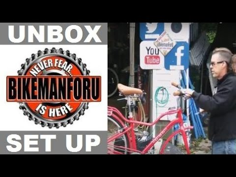 Unbox & Set Up A Bicycle Like A Pro - BikemanforU Bike Shop LIVE