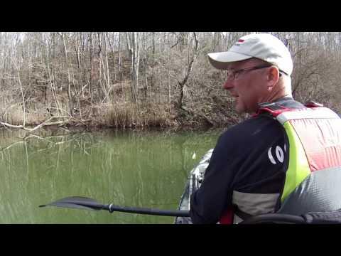 Feb 22 2017 Slender Lake Kentucky Kayak Fishing and Ramblings