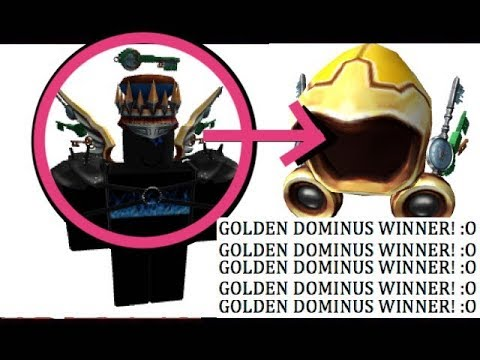 Roblox Rpo Chicken Question Answers R0cu Earns Golden Dominus In Roblox Ready Player One Event Heavy Com