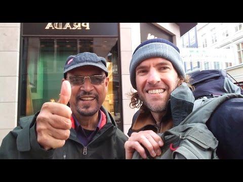 Running into one of my viewers in Copenhagen, Denmark