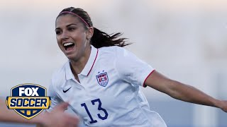 Alex Morgan always wanted to be a star, and an orca