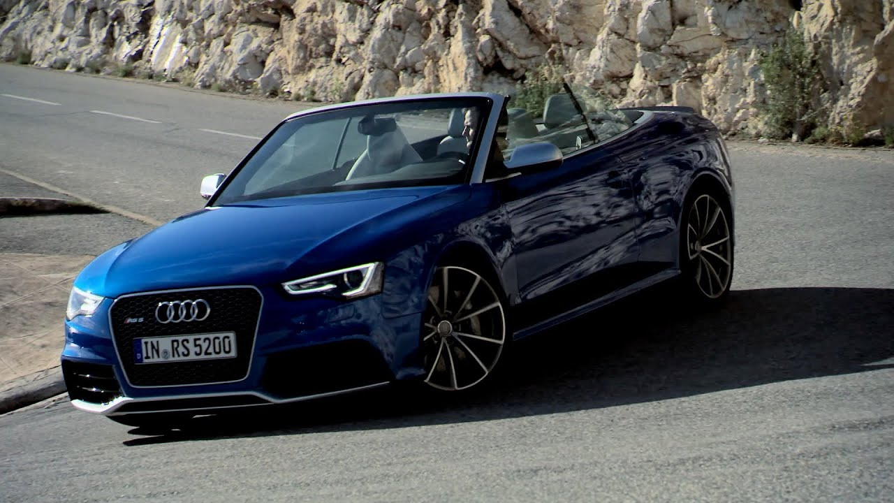 2013 audi rs5 convertible test drive youtube. Black Bedroom Furniture Sets. Home Design Ideas