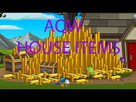 AQW= How To Get Cool House Items - YouTube