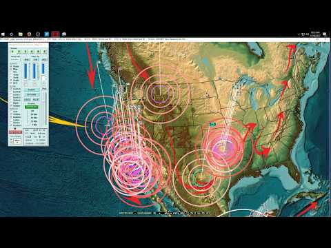 11/10/2017 -- Earthquake Update -- West Coast USA Slow Slip plate event