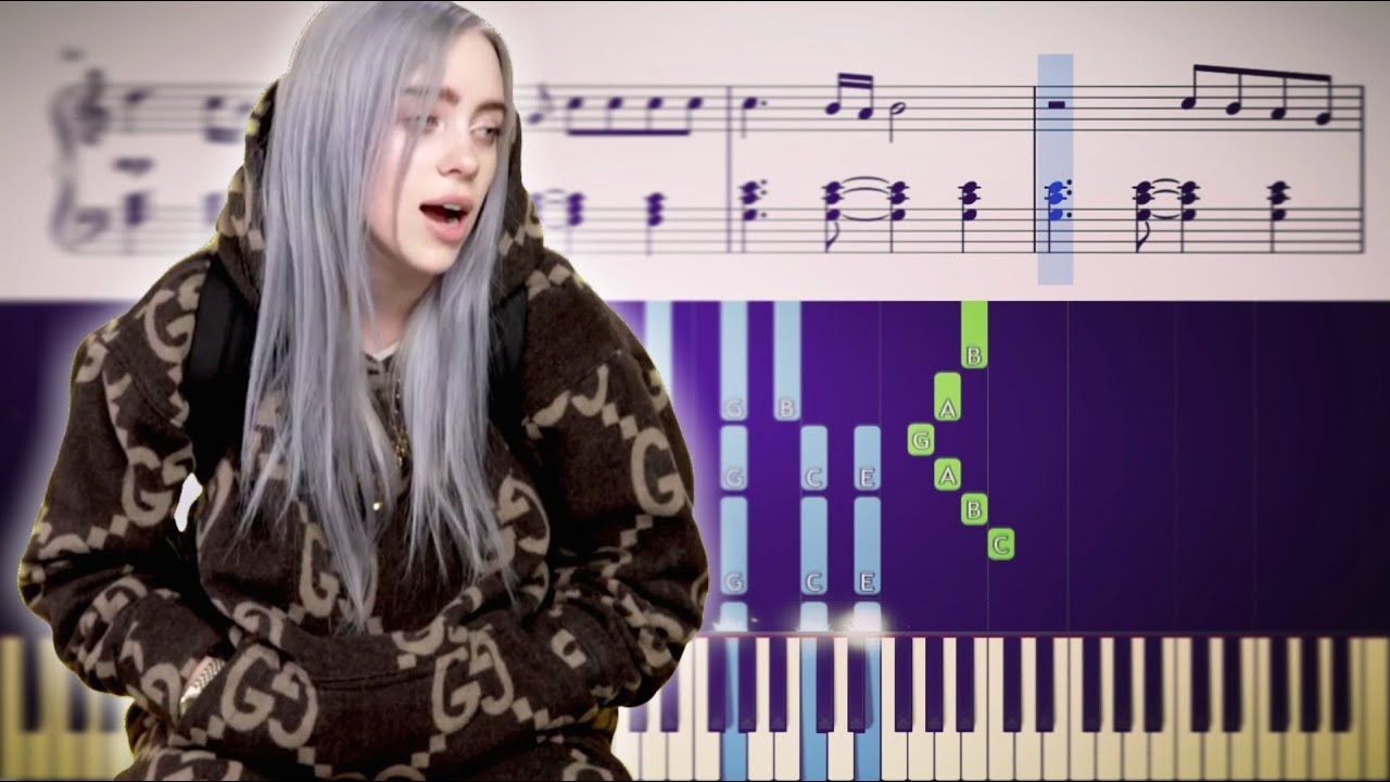 When The Party's Over - Billie Eilish - Advanced Piano ...