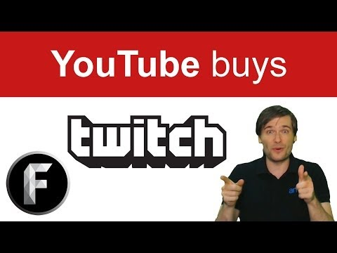 YouTube buys Twitch for $1 billion dollars!