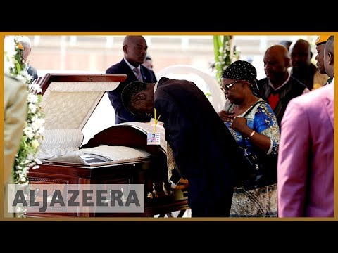 Robert Mugabe's body arrives in Zimbabwe amid mystery over burial