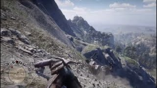 Thoroughbred is not a Mountain Goat Red Dead Redemption 2