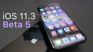 iOS 11.3 Beta 5 - What's New?