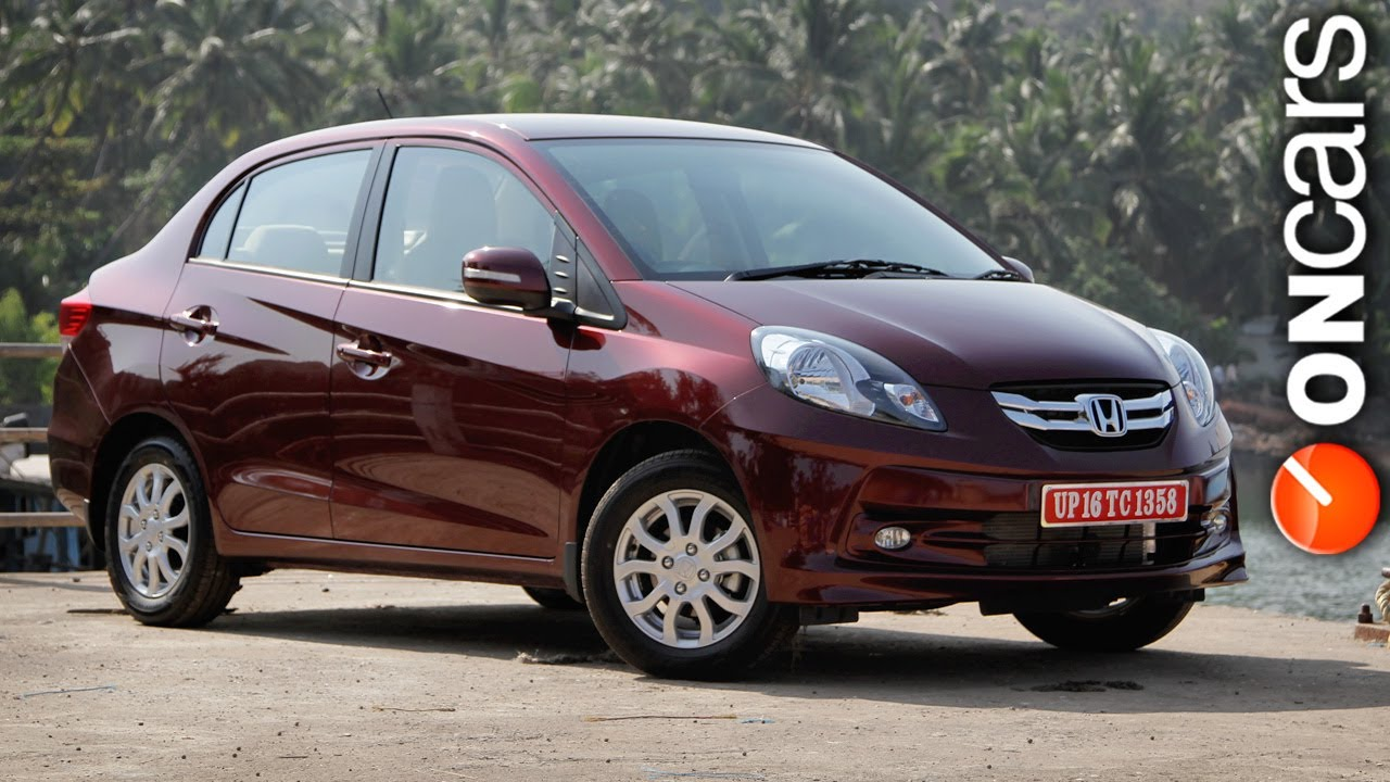 2013 Honda Amaze Launched In India At Rs 499 Lakh