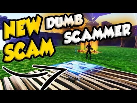 *NEW SCAM* Invisible DUMB Scammer Scams Himself (Scammer Gets Scammed) Fortnite Save The World