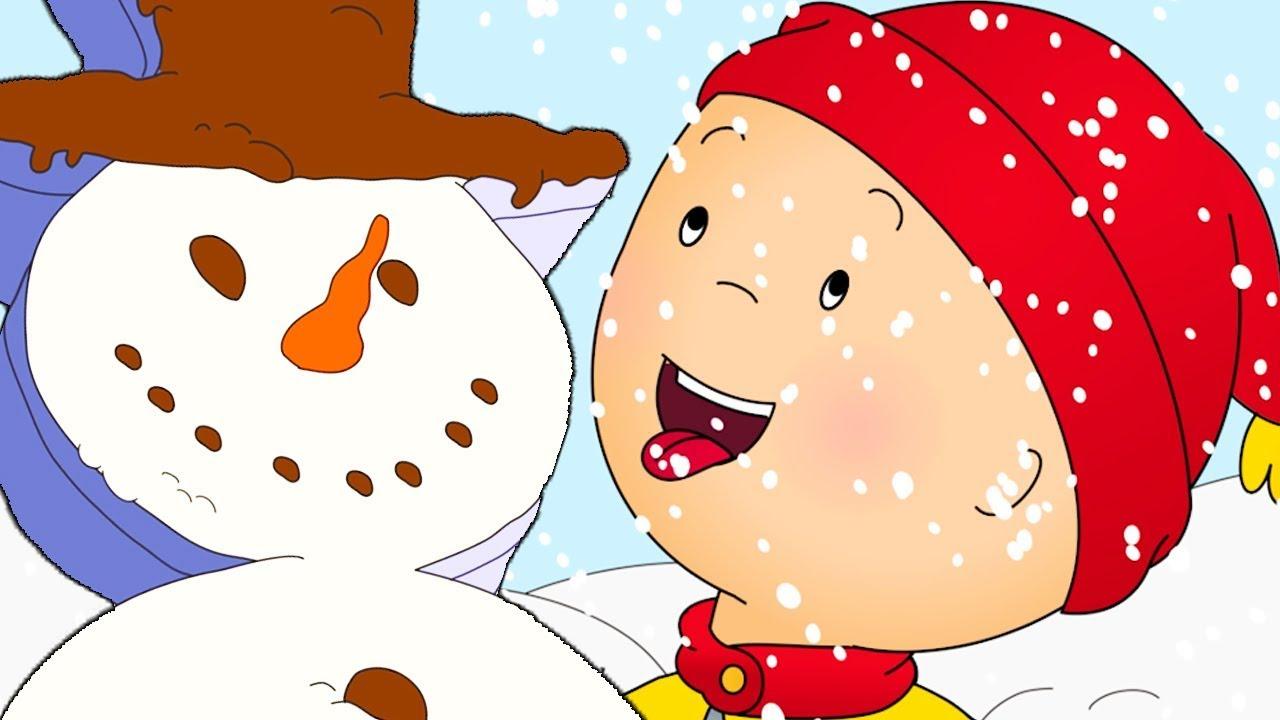 Caillou en fran ais la journ e d 39 hiver de caillou dessin anim dessin anim pour b b - Dessin caillou ...