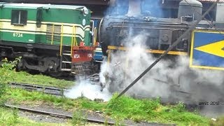 400th-Arriving at Coonoor- Steam & Diesel World Nilgiri Mountain Railway