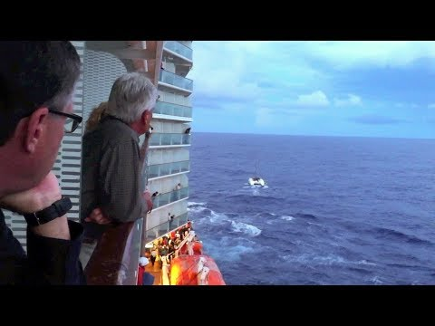 Celebrity Equinox: Dramatic Rescue at Sea