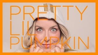 Pretty Lil Pumpkin - Warm And Spicy Orange Holiday Makeup Tutorial