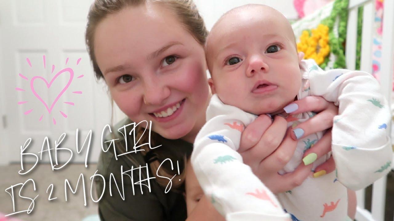 Baby Ashlyn's 2 MONTH Update!