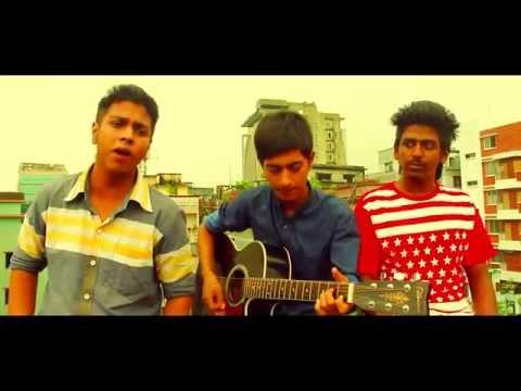 Valobasha_Rakib mursalin & Risk booy [Young brothers] live Unplgd video 2015 .Banglar Rap mix