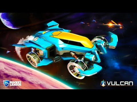 VULCAN NEW ROCKET LEAGUE CAR - CUSTOMIZING THE VULCAN ROCKET