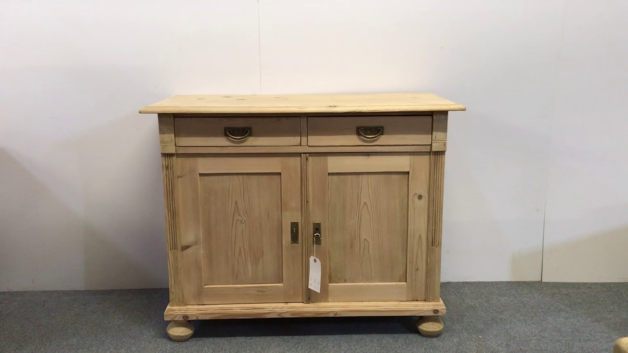 Small Antique Kitchen Cupboard For Sale   Pinefinders Old Pine Furniture  Warehouse