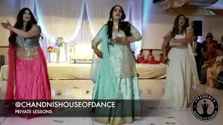 Bride + Groom + Family Perform at Sangeet | Punjabi Wedding Performance | Bollywood Wedding Dance|