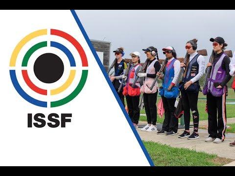Trap Women Junior Final - 2018 ISSF Junior World Cup in Sydney (AUS)
