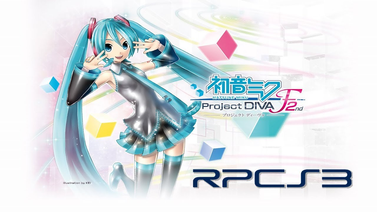 Project Diva F 2nd RPCS3 Test (Settings to run faster too!)