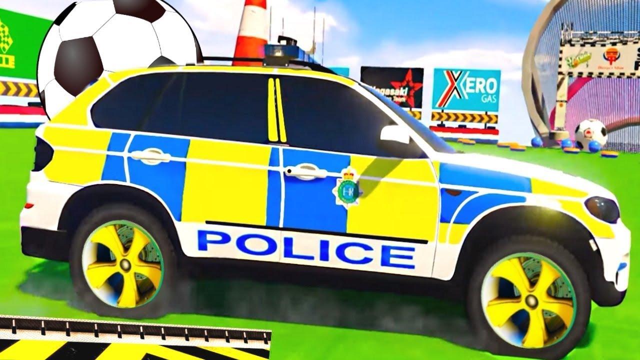 МАШИНКИ МУЛЬТИКИ для детей. Полицейские машинки гонки для ...