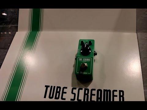 NAMM 2015 - IBANZEZ - The Tube Screamer MINI (Totally Cool!)