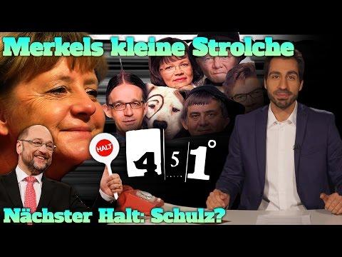 451 Grad || Angela Merkel und ihr Kabinett der Superminister  | Schulz-Zug entgleist ? || 31