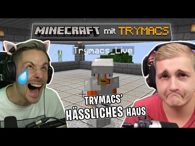 TRYMACS baut das hässlichste MINECRAFT HAUS der WELT! Minecraft mit Trymacs!