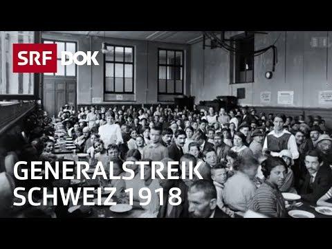 Generalstreik 1918 – die Schweiz am Rande eines Bürgerkrieges